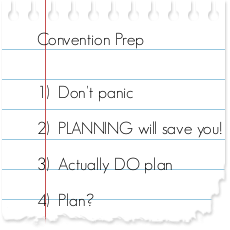 planning note